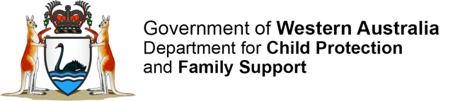 Department of Child Protection and Family Support